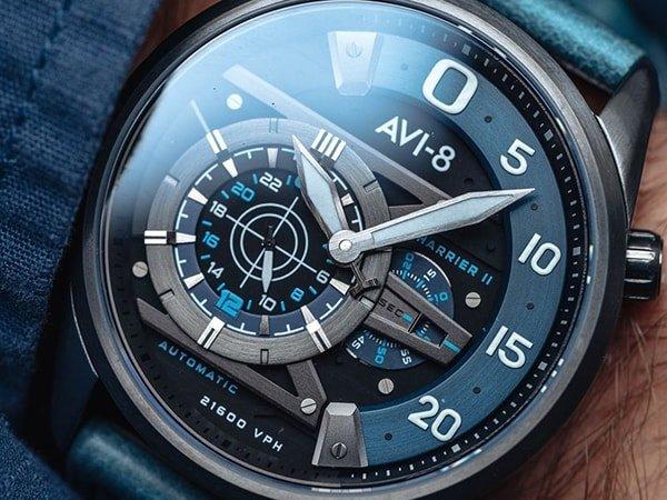 Zegarki AVI-8 w stylu pilot