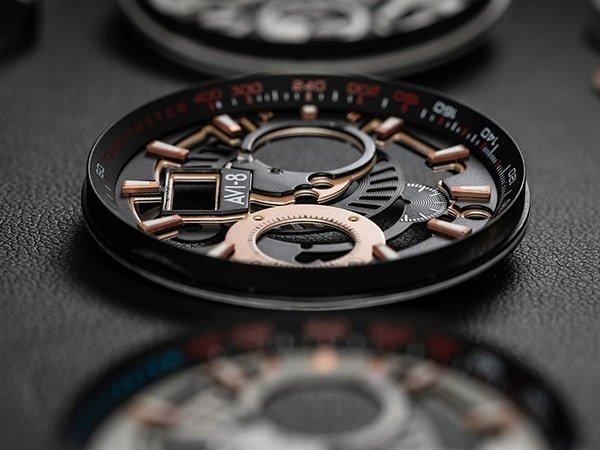 Zegarki AVI-8 inspirowane lotnictwem