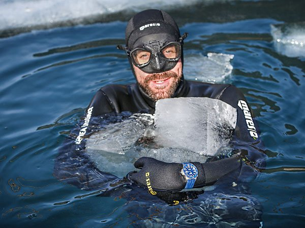 Davosa Argonautic BG i ekstremalny test wytrzymałości pod lodem