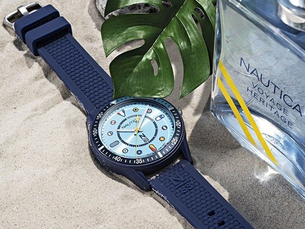 Dla kogo zegarki Nautica na pasku?