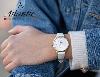 Atlantic – zegarki dla wielbicieli klasyki. Jaki zegarek Atlantic wybrać? Propozycje dla Niej i dla Niego