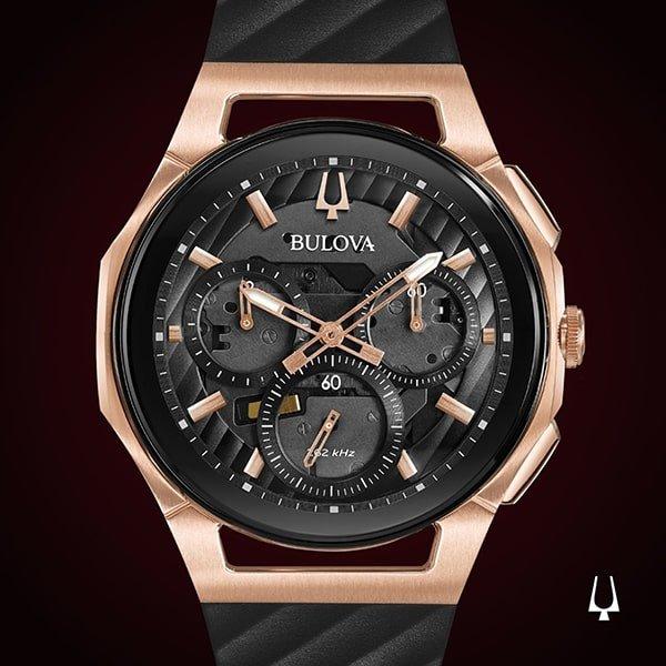 Bulova Curv - doskonale dokładny zegarek