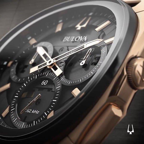 Niezwykle komfortowy zegarek Bulova Curv