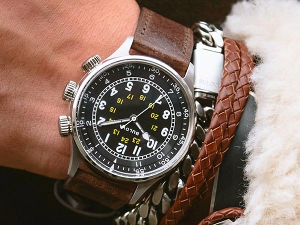 Rodzaje zegarków Bulova na pasku