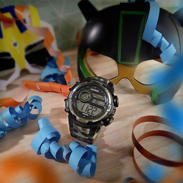Funkcjonalne męski zegarki Calypso