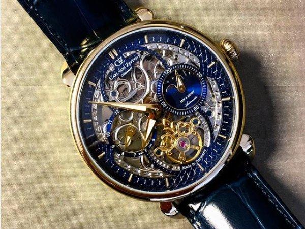 Barokowe nawiązania w zegarkach Carl von Zeyten