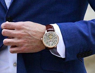 Architektoniczne inspiracje w zegarkach Carl von Zeyten skeleton