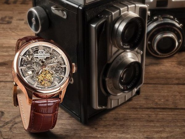 Prestiż skeletonowanych zegarków carl von zeyten
