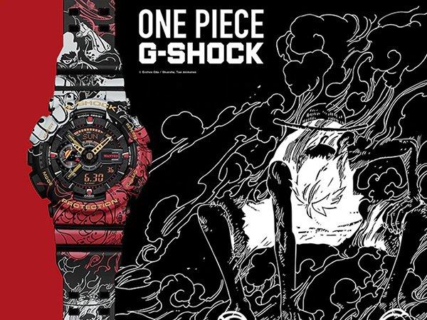 Pirackie przygody z zegarkiem G-SHOCK x One Piece