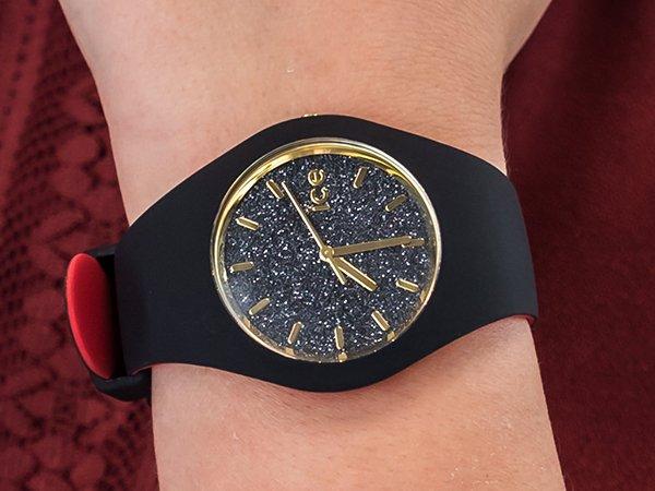ICE Watch ICE loulou Black Glitter - mariaż mody i sportowego stylu