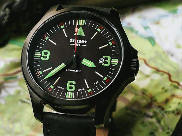 Zegarki Traser P67 Officer Pro Automatic z kopertami z brązu i nie tylko