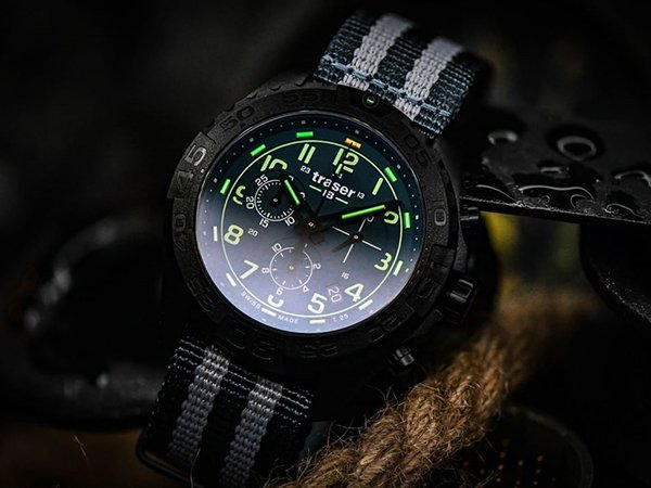 Zegarki Traser P96 Outdoor Pioneer Evolution  - pewność użytkowania