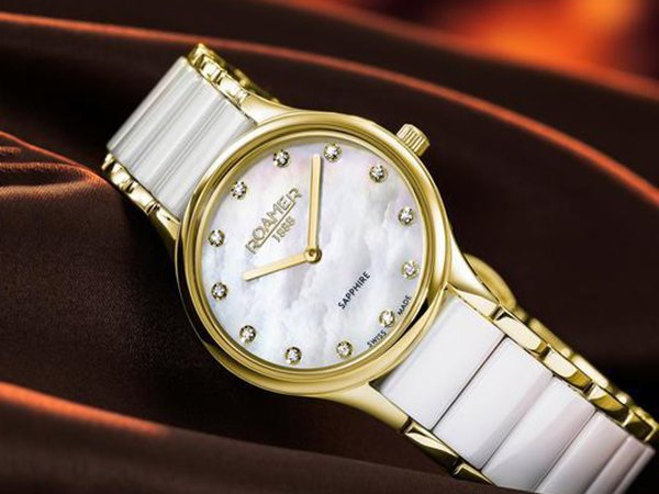 Zegarki ceramiczne Roamer Ceraline dla stylowych kobiet