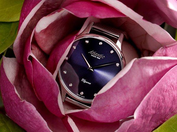Ponadczasowa jak i elegancka stylistyka zegarków Atlantic Elegance