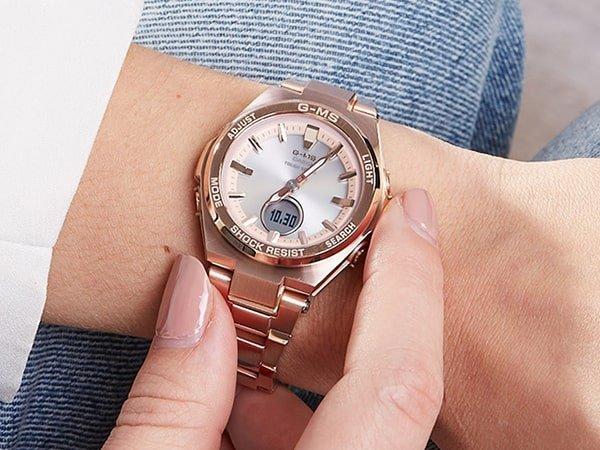 Zegarek Baby-G dla niej zasilany energią słoneczną.
