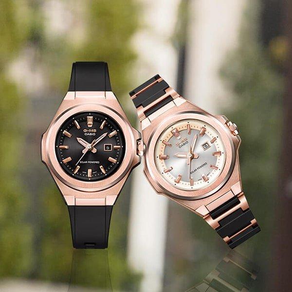 Japońska jakość wykonania zegarków G-MS
