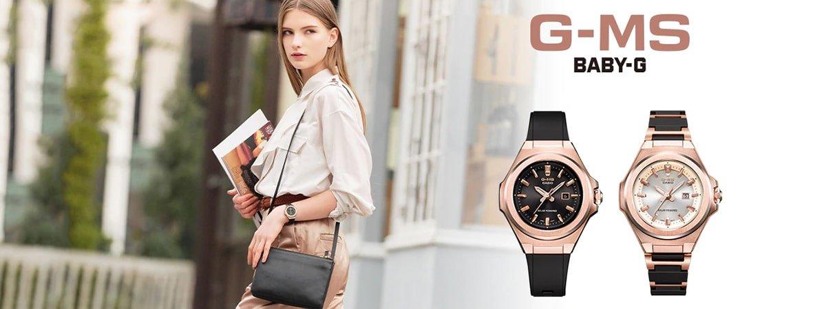 Nowe zegarki Baby-G G-MS