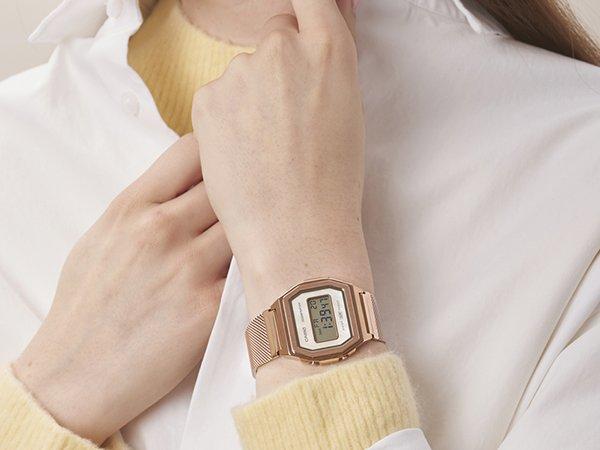 Zegarki Casio damskie na bransolecie