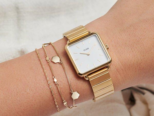 Wysoka jakość wykonania zegarków Cluse La Tétragone