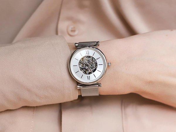 Niepowtarzalny zegarek Fossil Carlie