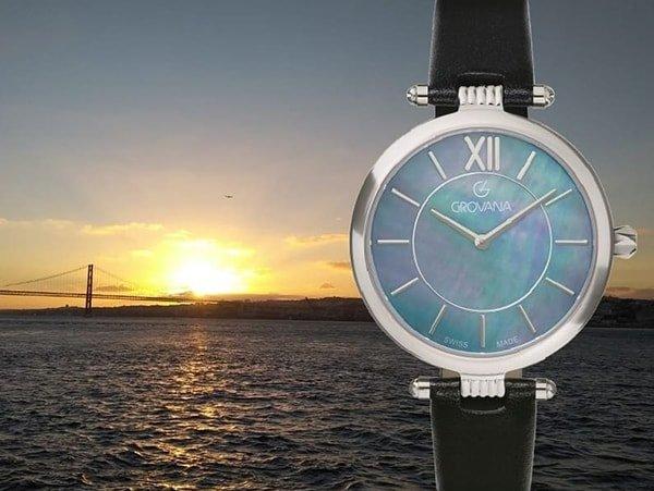 Wysoka jakość wykonania damskich zegarków Grovana.