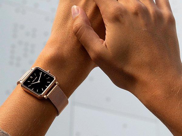 Minimalistyczne zegarki MELLER z kwadratową kopertą