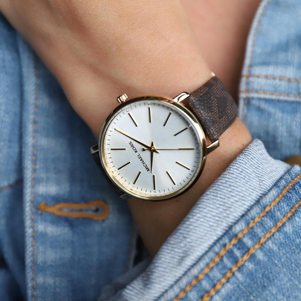 Stylowy zegarek Michael Kors pełen orginalnego wzornictwa