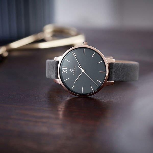 Klasyczny zegarek Obaku Denmark