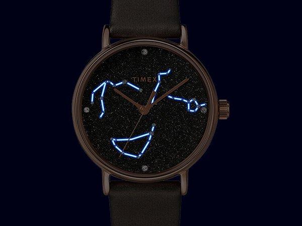 Gwiezdny zegarek Timex Celestial Opulence idealny dla niej