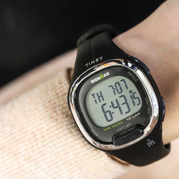 Zegarek Timex Ironman w czarnym kolorze