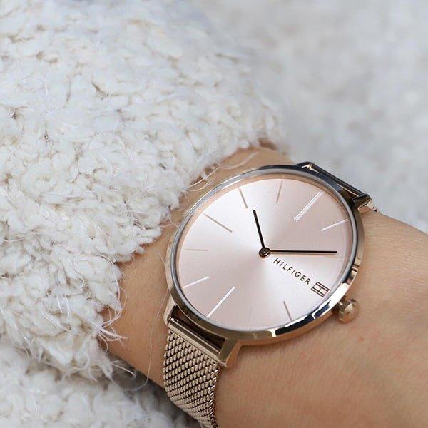 Zegarek Tommy Hilfiger w kolorze różowego złota