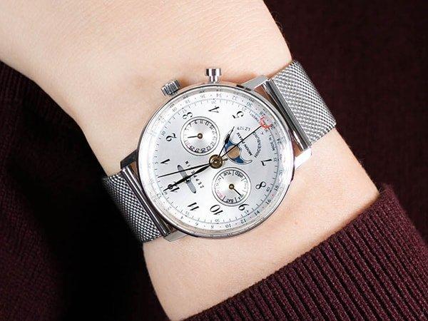 Zegarek Zeppelin dla miłośniczki lotnictwa