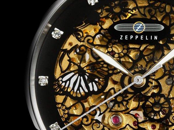 Księżyc nad Sycylią w damskich zegarkach Zeppelin