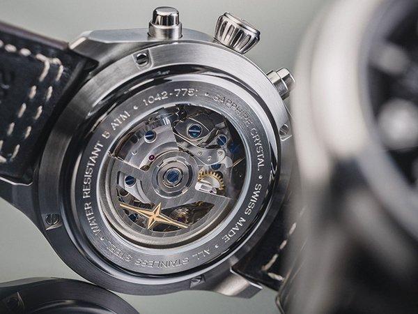 Mechanizm z górnej półki w zegarkach Davosa