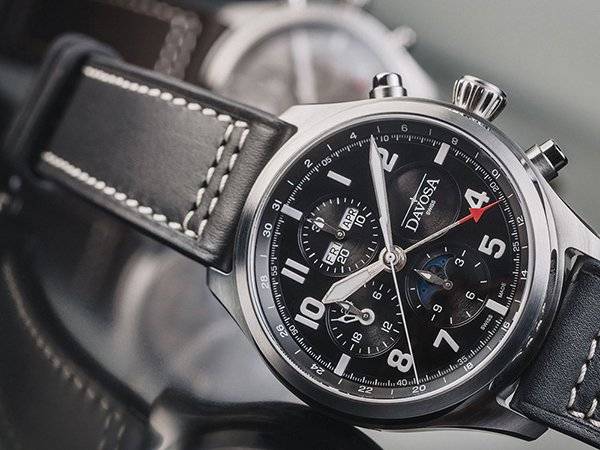 Elegancki zegarek Izaak Newton