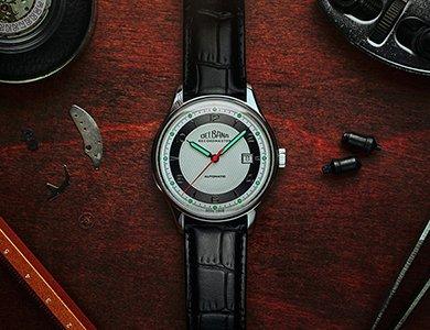 Limitowany zegarek Delbana Recordmaster na 90-lecie marki
