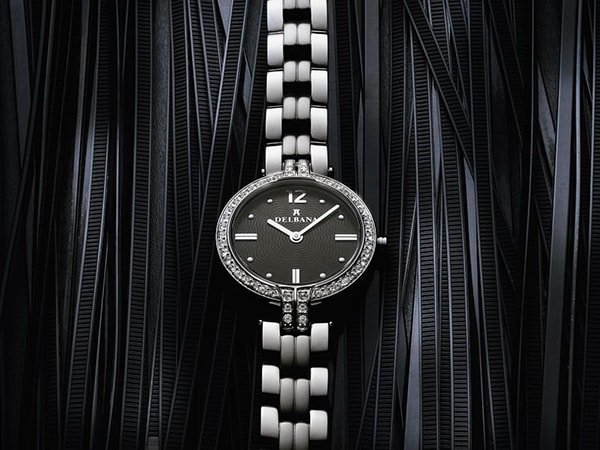 Biżuteryjny zegarek Delbana