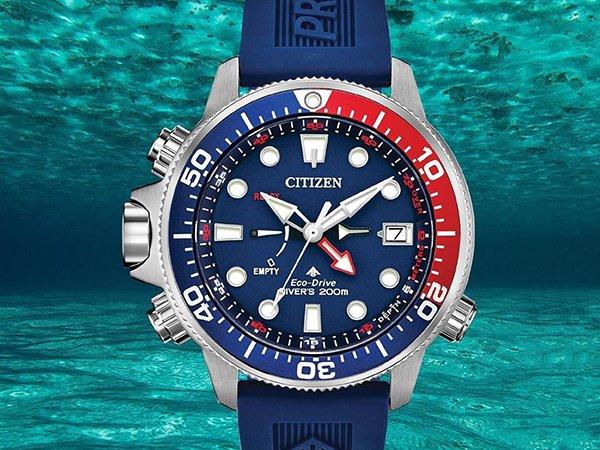 Niezawodny zegarek Citizen Promaster BN2038-01L