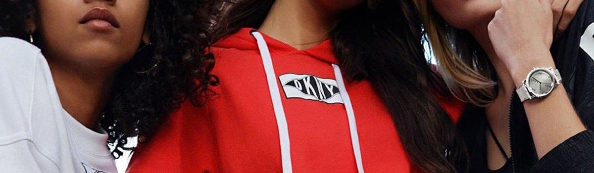 Zegarki DKNY na pasku