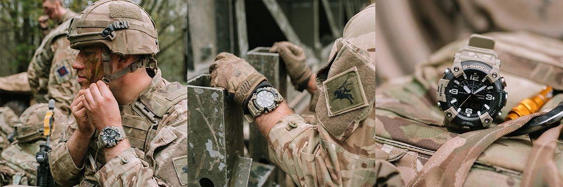 Zegarek dla żołnierzy - G-SHOCK Mudmaster GG-B100