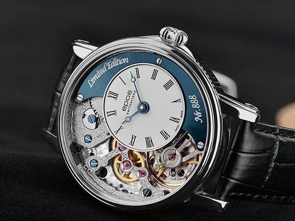 Luksusowy zegarek epos z mechanizmem mechanicznym