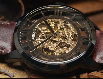 Liczy się wnętrze, czyli automatyczny zegarek Fossil