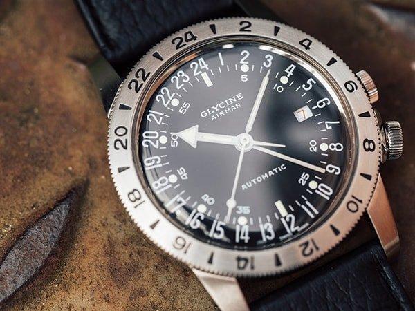 Zegarki Glycine Airman inspirowane lotnictwem