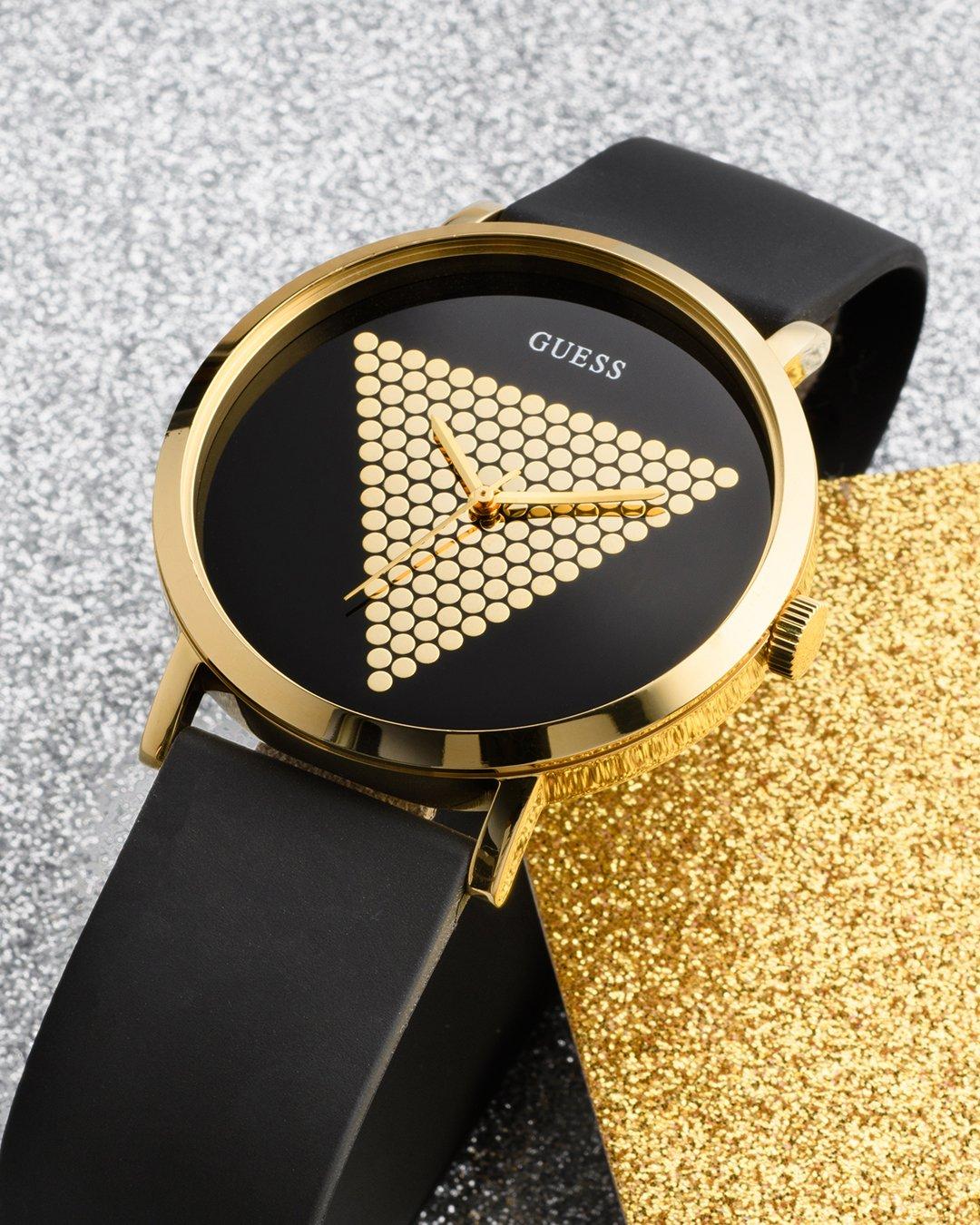 Modny zegarek Guess na pasku dla każdego.