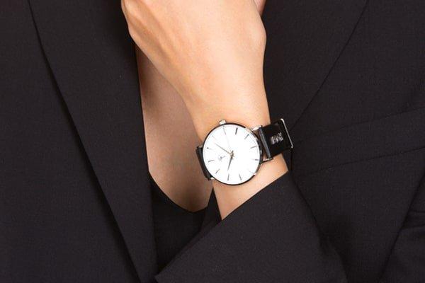 stylowy damski zegarek Joop! na czarnym pasku