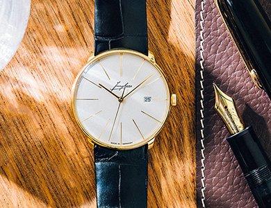 Niemiecki zegarek Junghans z 18-karatowego złota w przedsprzedaży na ZEGAREK.NET