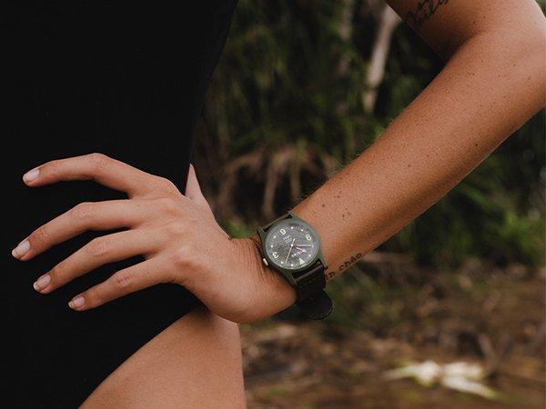Sportowe zegarki Triwa z recyklingu