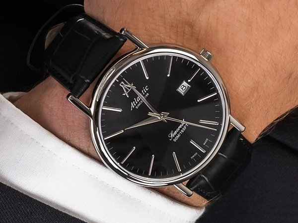 Zegarki Atlantic Seacrest - elegancja pasująca na każdą okazję