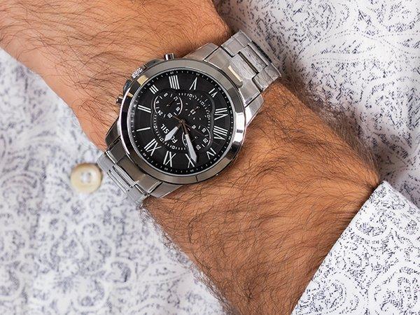 Specyfikacja zegarków Fossil Grant
