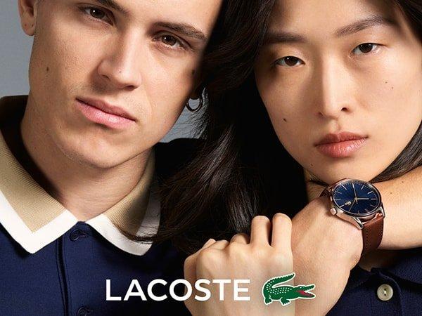 Męski zegarek Lacoste pasujący do każdej stylizacji.